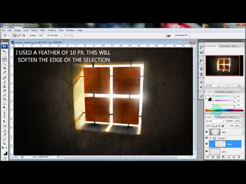 ARCHITECTURE ILLUSTRATION TUTORIAL: ADDING LIGHT RAYS