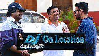 DJ Duvvada Jagannadham first day shooting spot   Allu Arjun   Pooja Hegde   Harish Shankar  Dil Raju - IGTELUGU