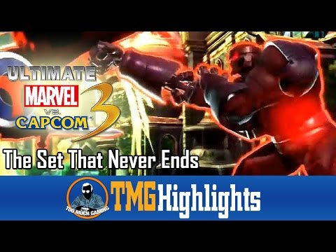 The Set That Never Ends (Short) | Ultimate Marvel vs. Capcom 3 | Too Much Gaming