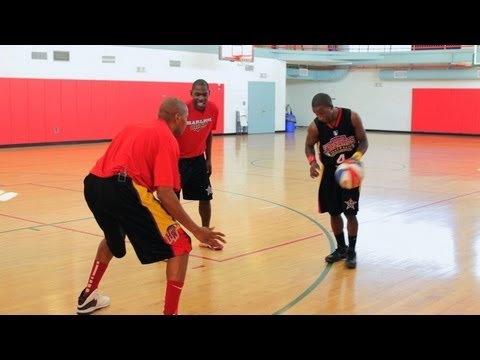 How to Double Crossover Dribble | Basketball