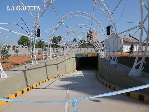 Inauguraron el túnel que une Marco Avellaneda con Suipacha