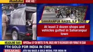 Curfew relaxed in Saharanpur,tempers calm down - NEWSXLIVE