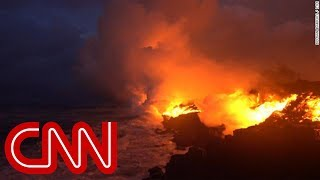 See lava from Hawaii volcano reach the ocean - CNN
