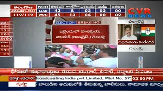 Telangana Election Results Latest updates | TRS Madhusudhana Chary lost | CVR News - CVRNEWSOFFICIAL