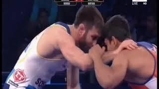 PWL 3 Day 12: Soslan Ramonov VS Harphool Gulia Pro Wrestling League at season 3 |Full Match - NEWSXLIVE