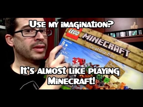 LEGO Minecraft Crafting Box Review [Set 21116]