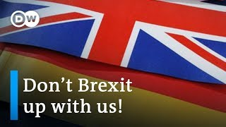 Germany to UK after Brexit vote: We will miss you, please stay! | DW News - DEUTSCHEWELLEENGLISH