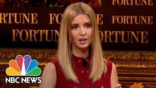 Ivanka Trump: I'm Not A 'Surrogate' For My Father, I'm 'A Daughter'   NBC News - NBCNEWS