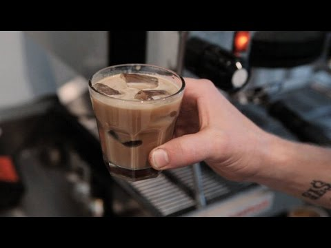 Coffee Talk How to Make an Iced Latte