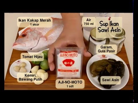 Dapur Umami - Sup Ikan Sawi Asin