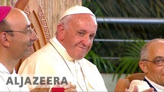 Pope Francis' farewell mass in Peru ends tour - ALJAZEERAENGLISH