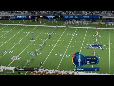 Season 1 – Week 4: Chicago Bears vs Dallas