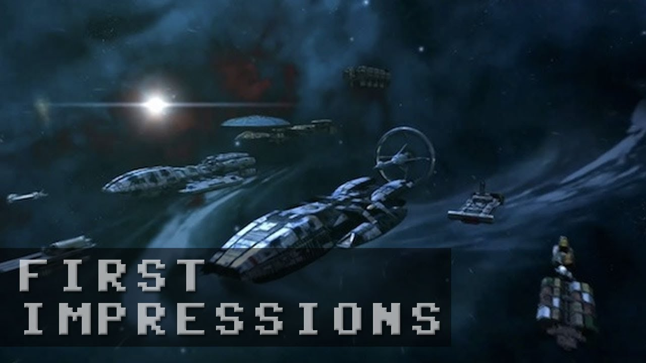 Battlestar Galactica Online Gameplay - First Impressions HD