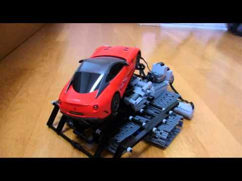 Lego Technic Incline Car Ferrari 599GTO Red 10