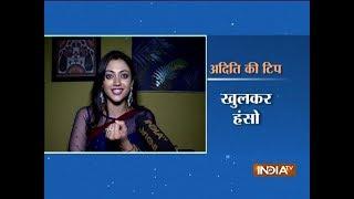 Kaleerein actress Aditi Sharma's day out with SBAS - INDIATV