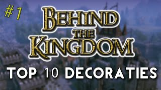Thumbnail van BEHIND THE KINGDOM! - TOP 10 SET DECORATIES