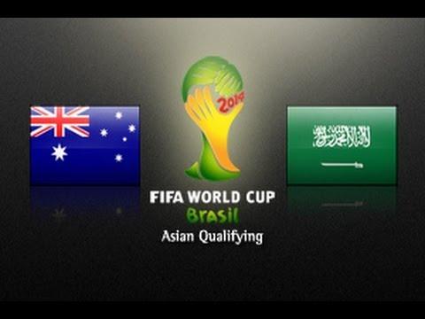 Australia vs Saudi Arabia: 2014 FIFA World Cup Asian Qualifiers - (Round 3, Match day 6)