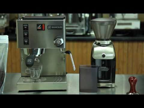 Rancilio Silvia and Baratza Virtuoso Preciso Grinder Package from Whole Latte Love
