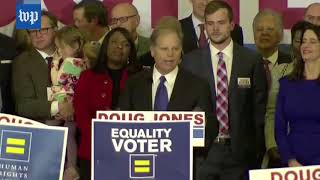 Doug Jones's victory speech, in three minutes - WASHINGTONPOST
