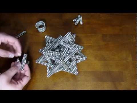 Tutorial: Compound of Five Tetrahedra (Zen Magnets)