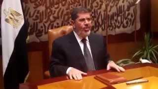 رسالة من السيد الرئيس محمد مرسي الي الشعب المصري