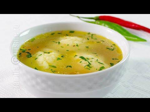 Supa de pui cu galuste - JamilaCuisine