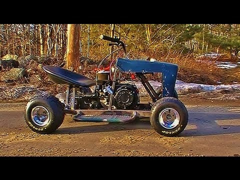 Racing Mower/Go Kart First Test Ride!