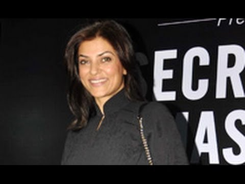 Sushmita Sen at Fiona Moissanite's 'The Secret to Master Your Mind'