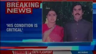 VK Sasikala's husband Natarajan is on ventilator and condition remains critical, says hospital - NEWSXLIVE