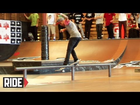 Chaz Ortiz First Place Qualifying Run - Tampa Pro 2012