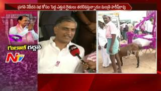 Harish Rao Face to Face about Security at Warangal Sabha & Arrangements || NTV - NTVTELUGUHD