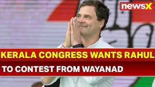 Lok Sabha Elections 2019: Kerala Congress demands Rahul Gandhi to contest from Wayanad - NEWSXLIVE
