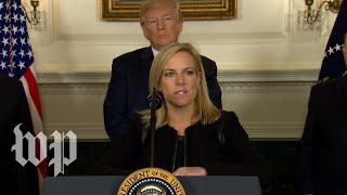 DHS Secretary: 'This is a down payment on a border wall' - WASHINGTONPOST