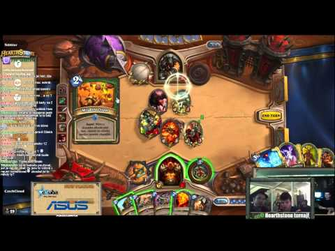 (TURNAJ Z RE-LOAD) Hearthstone : Nibbler vs eSuba CzechCloud