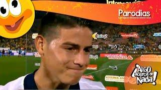 Entrevista JAMES RODRIGUEZ tras juego con Paraguay.