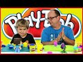 Play-Doh Challenge - Minecraft and Plants vs Zombies - Family Fun