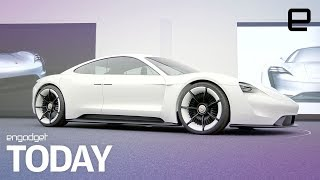 Porsche takes aim at Tesla with the upcoming Mission E | Engadget Today - ENGADGET