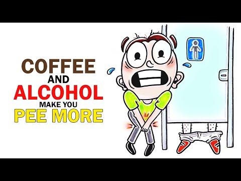 Why do coffee and alcohol make you PEE more? cloned