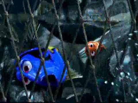 Nemo - La scena della fuga dal peschereccio