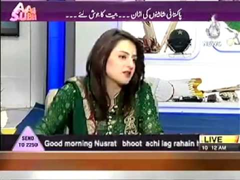 GHULAM ABBAS GUL IN AAJ SUBH MORNING SHOW PART 3