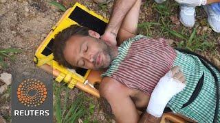 British actor found alive after waterfall slip - REUTERSVIDEO