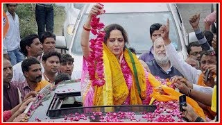 Hema Malini files nomination from Mathura; हेमा मालिनी का बयान- अगला चुनाव कहीं से नहीं लड़ेंगी - ITVNEWSINDIA