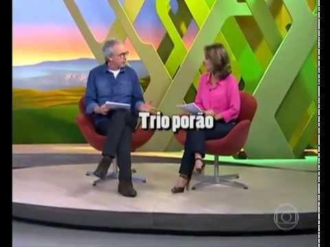 Globo Rural -  Comedouro de galinhas sem desperdícios