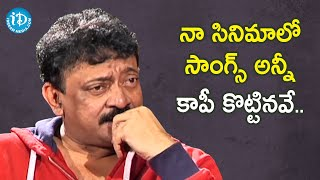 I Always Copy Songs - RGV | RGV About Music | Ramuism 2nd Dose | iDream Telugu Movies - IDREAMMOVIES