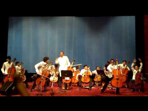 Master of Puppets - Amazon Youth Cello Choir Live at Beijing 2010