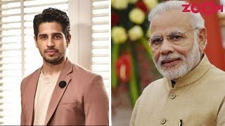 Sidharth Malhotra Writes An Open Letter To India's PM Narendra Modi - ZOOMDEKHO