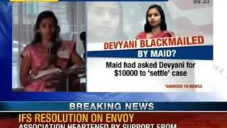 NewsX: IFS to issue resolution on Devyani Strip searched case - NEWSXLIVE