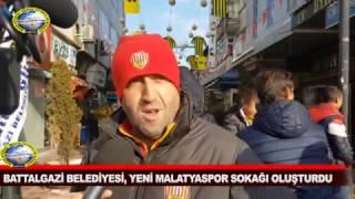 Yeni Malatyaspor Sokağı, Çumhuriyet Çarşısı'na Canlılık Kattı
