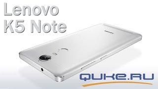 Обзор Lenovo K5 Note