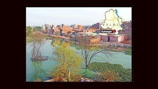 Man-made floods make life hell in south Delhi's Aya Nagar; dark green water surrounds homes - TIMESOFINDIACHANNEL